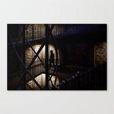 + Inside the Tower, Prague (czk) Canvas Print