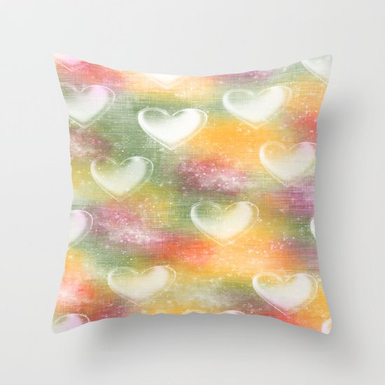 Heavenly Escape Throw Pillow