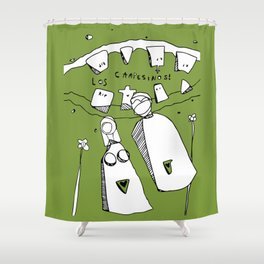 Los Campesinos Shower Curtain