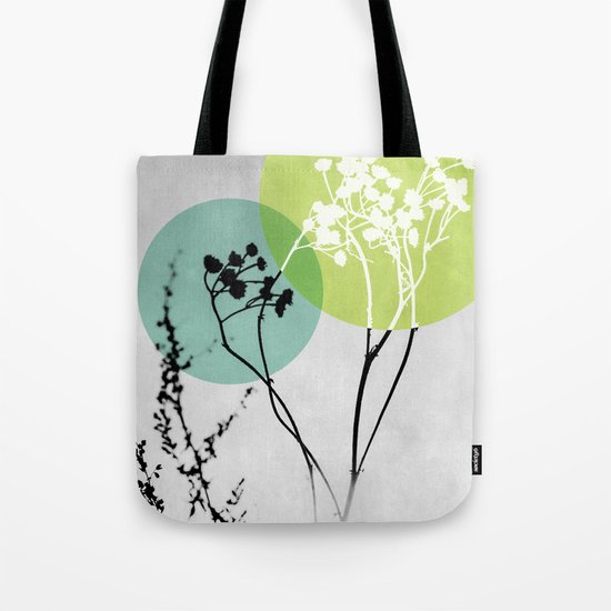 Abstract Flowers 2 Tote Bag