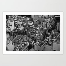 Tokyo City Art Print
