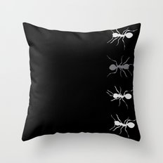 Graphic_Ant Throw Pillow
