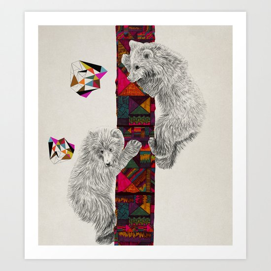 The Innocent Wilderness by Peter Striffolino and Kris Tate Art Print