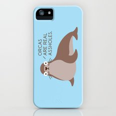 Seal of Reproval iPhone (5, 5s) Slim Case