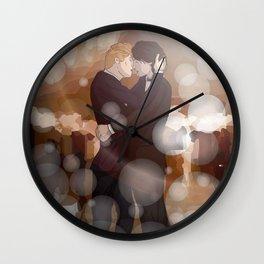 Dancing Snowbaz Wall Clock