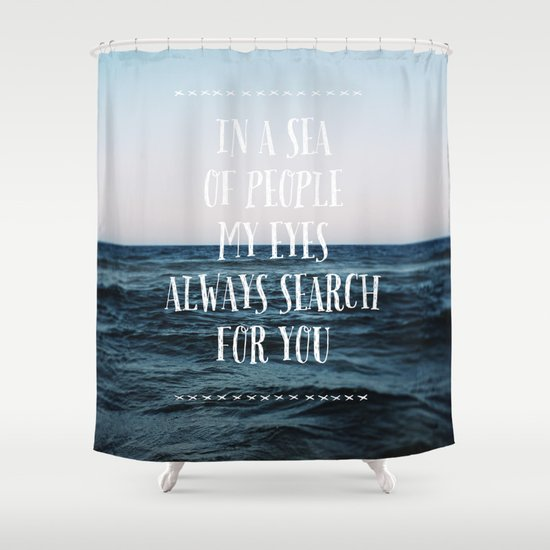 Sea of People Shower Curtain