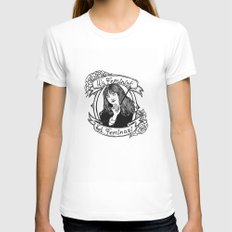 Diego's Hermione Womens Fitted Tee White MEDIUM
