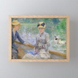 Summer's Day by Berthe Morisot Framed Mini Art Print