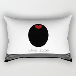 Olive Juice AKA I LOVE YOU Rectangular Pillow