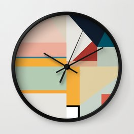 modern abstract II Wall Clock