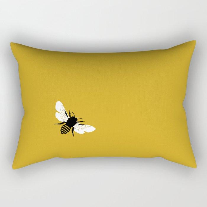 Bee world Rectangular Pillow