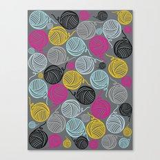 Yarn Yarn Yarn Yarn Yarn Canvas Print