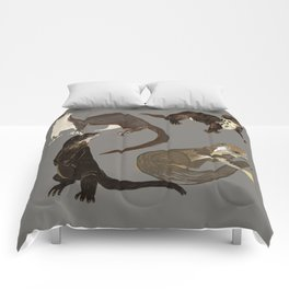 Old World otters Comforters