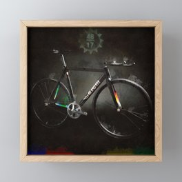 Fixed Gear Dreams - MASH 2015 Framed Mini Art Print