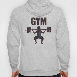 Gym Female Weightlifter Hoody