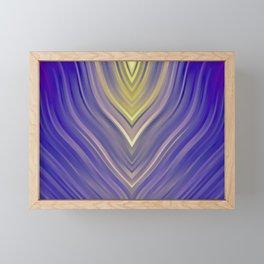 stripes wave pattern 3 ls Framed Mini Art Print