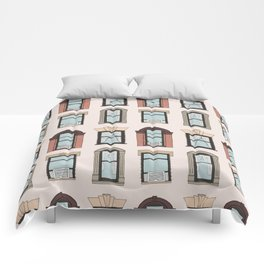 Upper West Side Windows Comforters