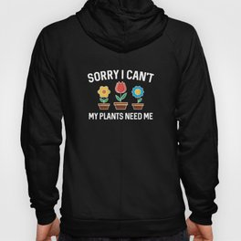 Sorry I Can't Hoody