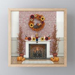 Harvest Hearth Framed Mini Art Print