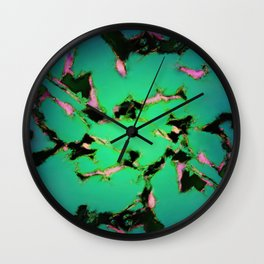 An interrupted glow Wall Clock