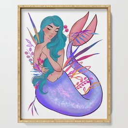 Mermaid 001 Serving Tray