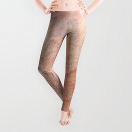 Polished Rose Gold Marble Leggings