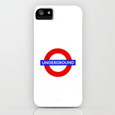 Underground sign Slim Case iPhone (5, 5s)