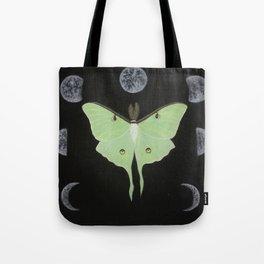 Cycles of Luna Tote Bag