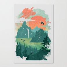 Lost Cove Canvas Print