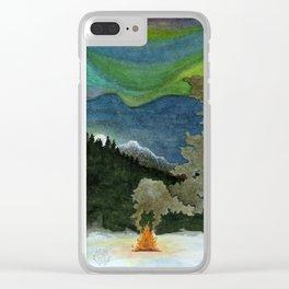 Alaskan Wilderness Clear iPhone Case