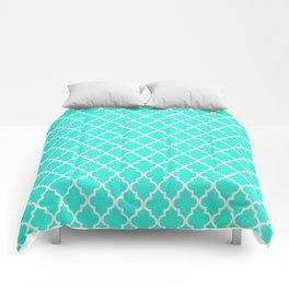 Morrocan Aqua Comforters