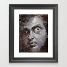 discontented el-terco Framed Art Print