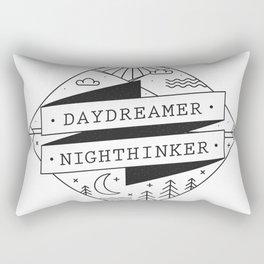 daydreamer nighthinker II Rectangular Pillow