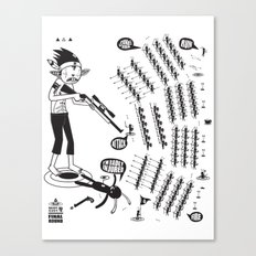 SORRY I MUST RUN - ULTIMATE WEAPON ARROW [FINAL ROUND] Canvas Print