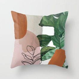 Simpatico V2 Throw Pillow