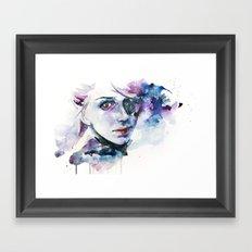 almost lover Framed Art Print
