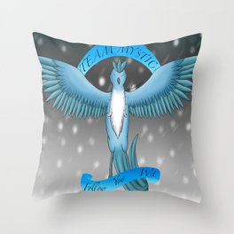 Team Mystic Throw Pillow