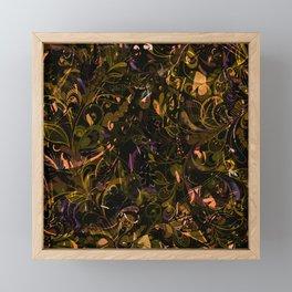 Abstract Mandala 6 Framed Mini Art Print