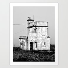 Old Sea Port Building, Dunmore East, Co. Waterford, Ireland Art Print