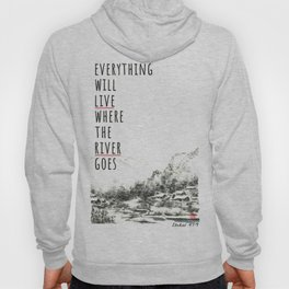River of Living Water Hoody