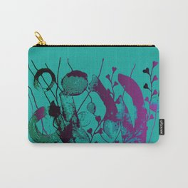 turquoise underwater Carry-All Pouch