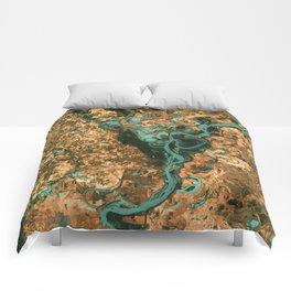 Views of life from space Comforters