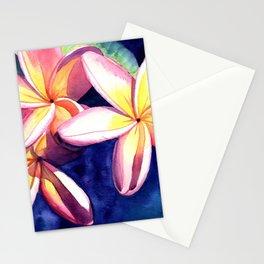 Plumeria Garden 3 Stationery Cards