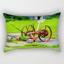 Tractor Wheel Rectangular Pillow
