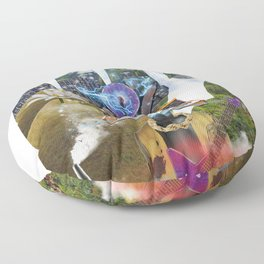 Sadahtay_Moog Heaven Floor Pillow