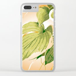 Ficus Plant 9 Clear iPhone Case