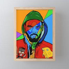 CBreezy Framed Mini Art Print