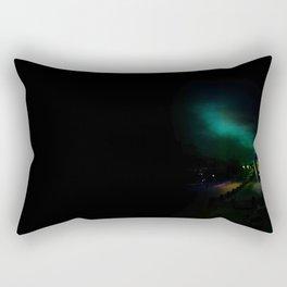 Northern Lights in Tromso Rectangular Pillow
