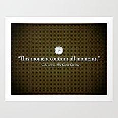 This Moment Art Print