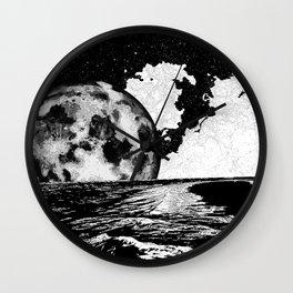 Night tide Wall Clock